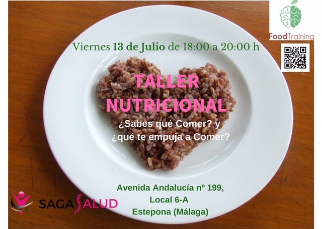 Talleres de Alimentación Saludable Viernes 13 de Julio 2018