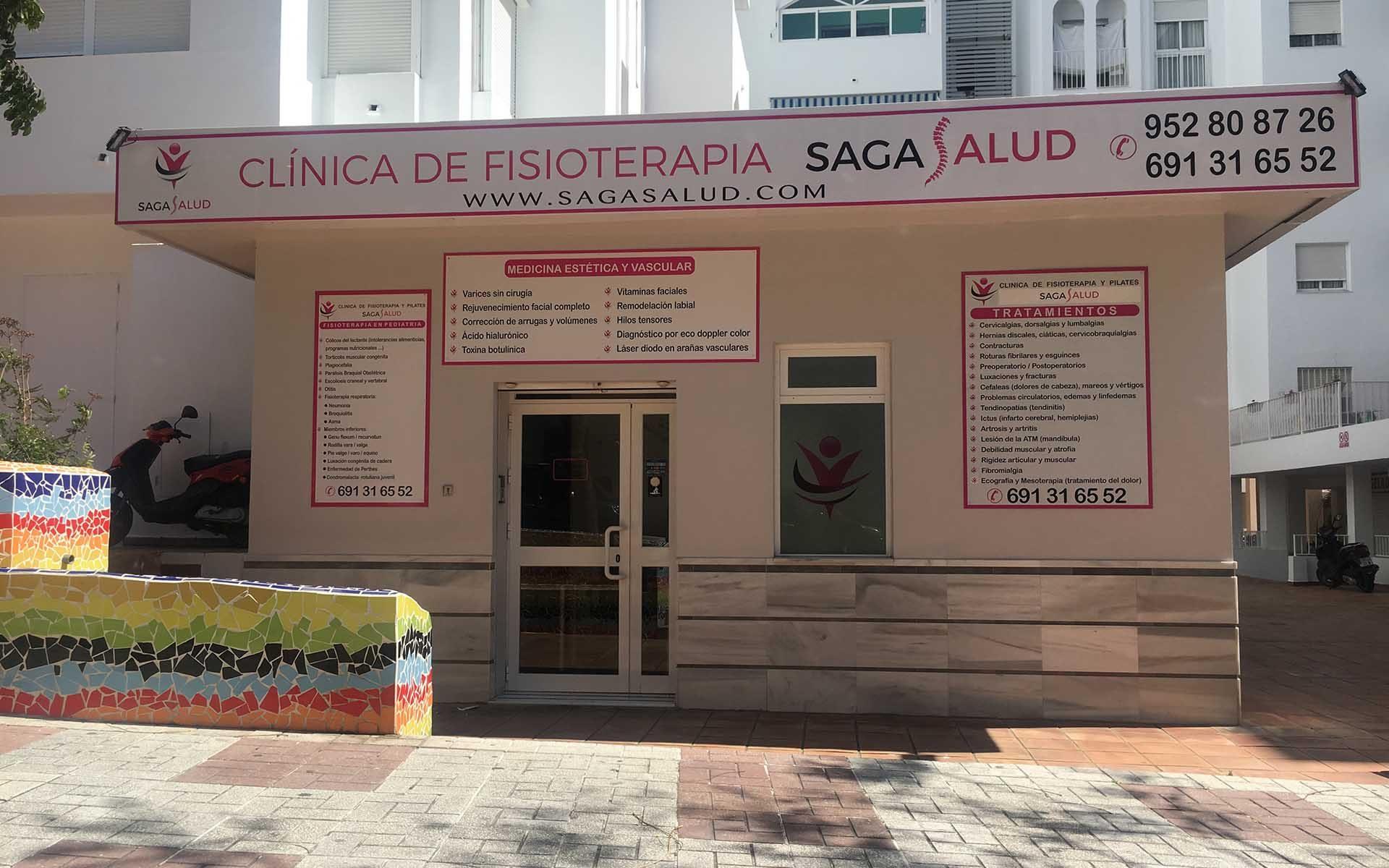 fisioterapeutas estepona Saga Salud