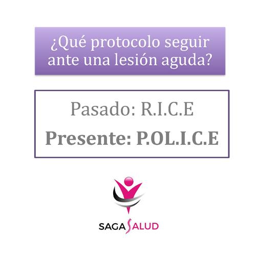 ¿Qué protocolo seguir ante una lesión aguda? de RICE a POLICE