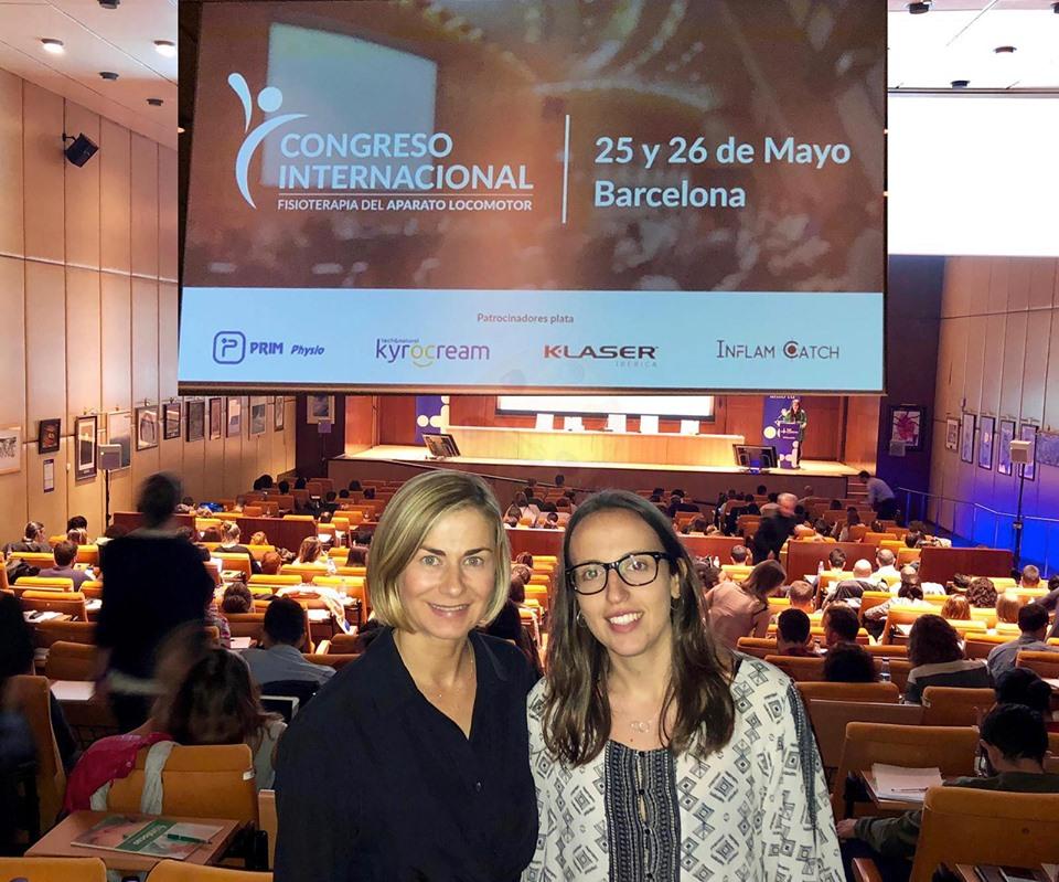 Sagasalud en el Congreso Internacional de fisioterapia del aparato locomotor de Barcelona
