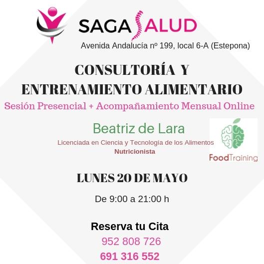 Consultoría nutricional en nuestro centro