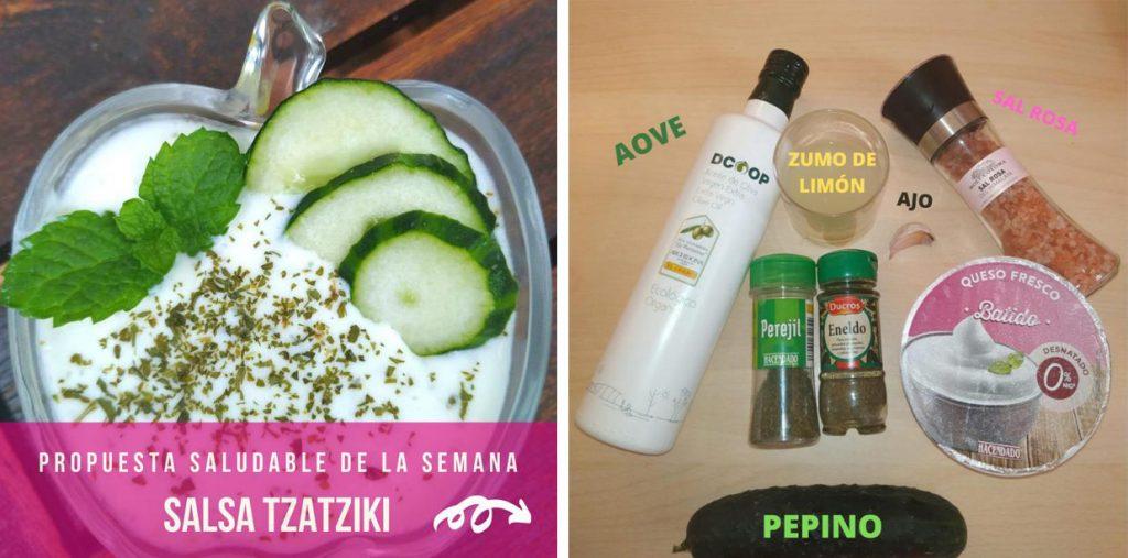 Propuesta  Saludable Salsa Tzatziki